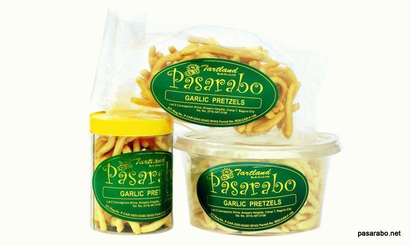 Tartland Baguio Garlic Pretzels