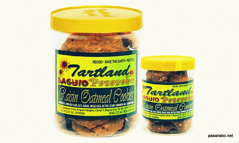 Tartland Baguio Raisins Oatmeal
