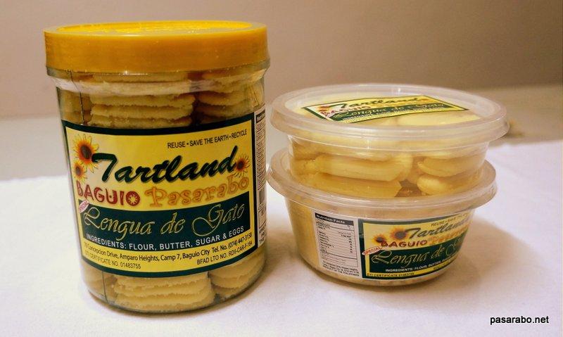 Tartland Baguio Special Lenguas de Gato